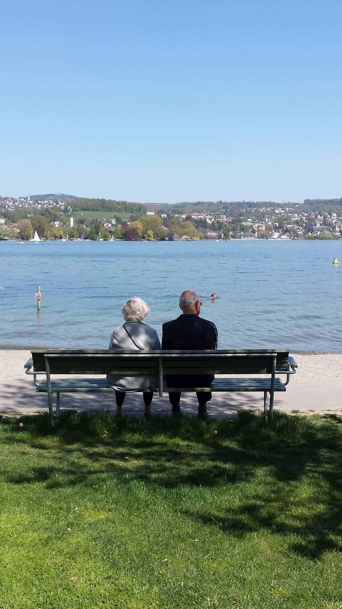 At Zurich lake