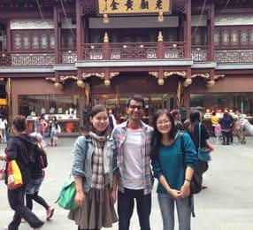 Hammad from Australia about Shanghai Greeters