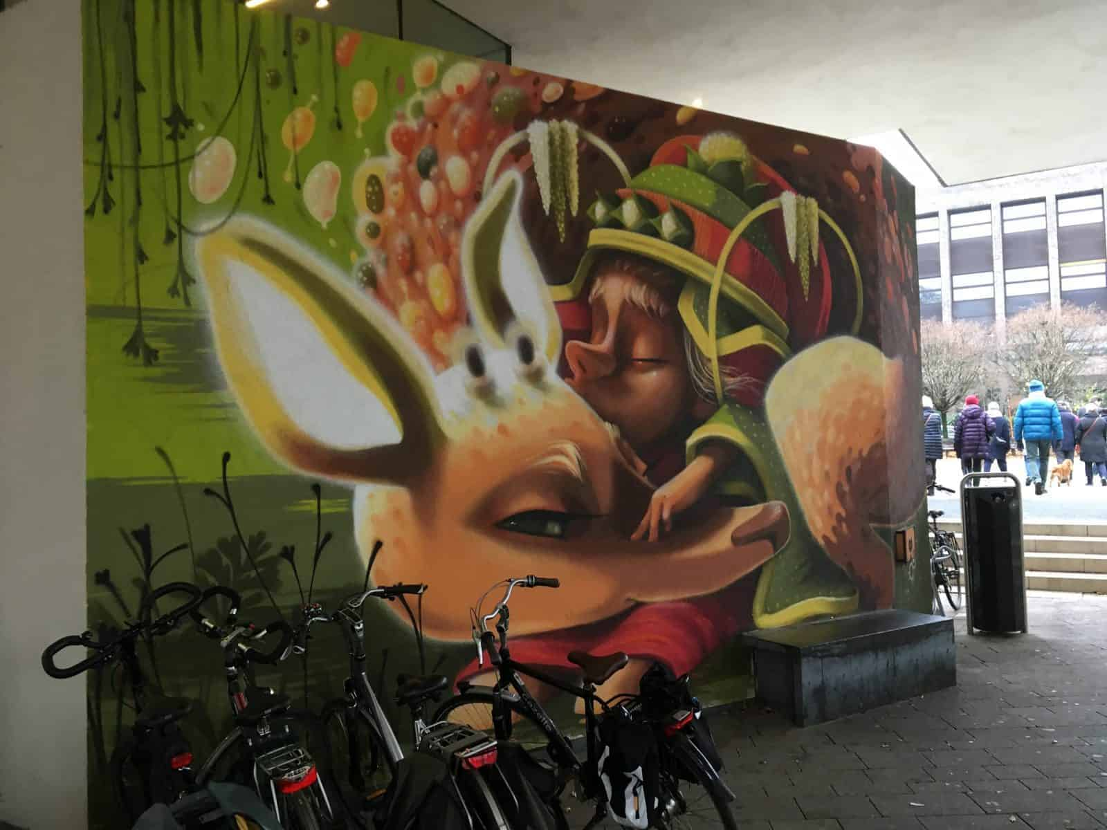 Graffiti in Hasselt