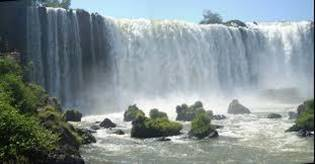 Argentina water fall