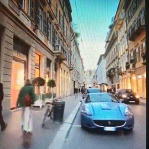 Italy car in street