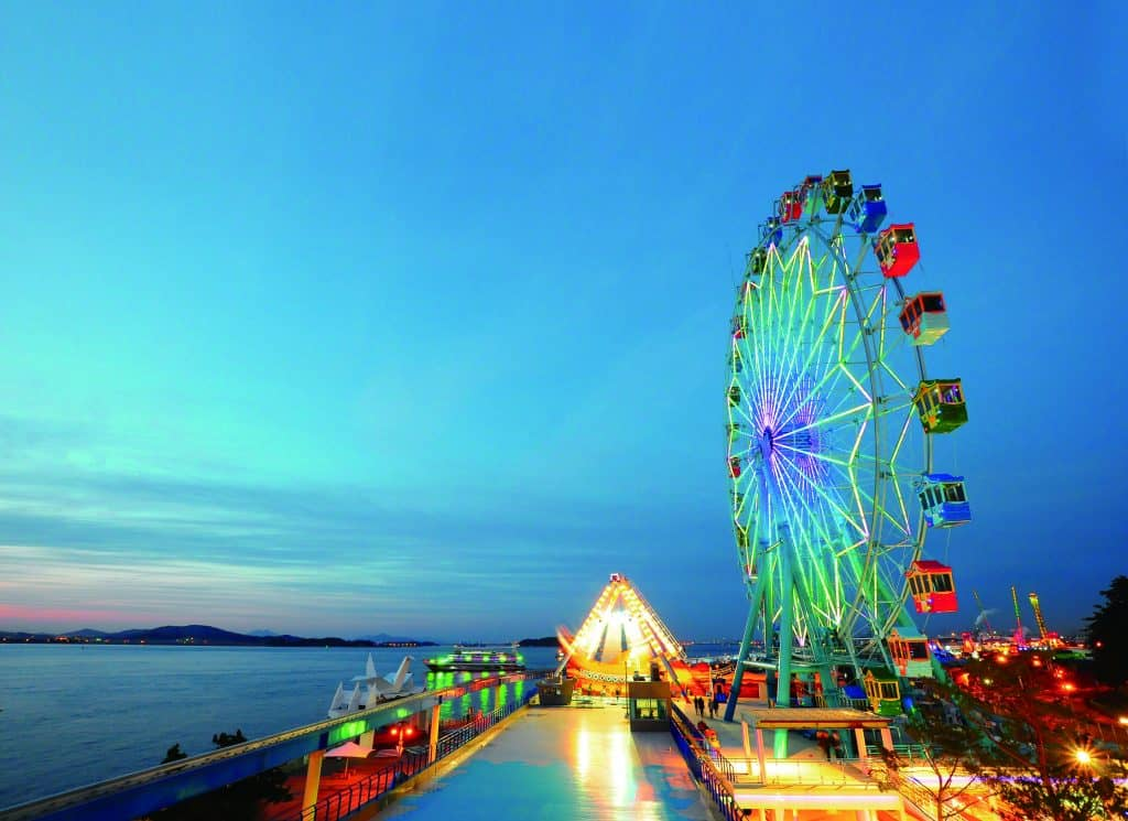 Incheon ferris wheel