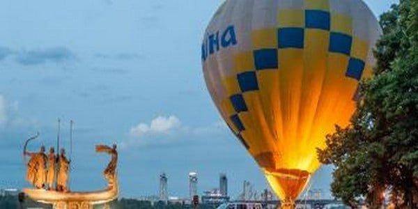 Kyiv hot air balloon