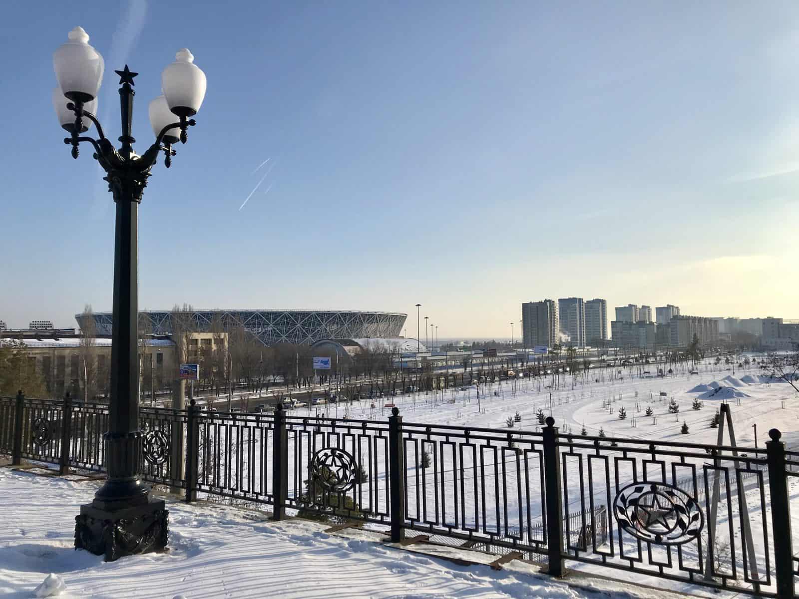 Volgograd fountain