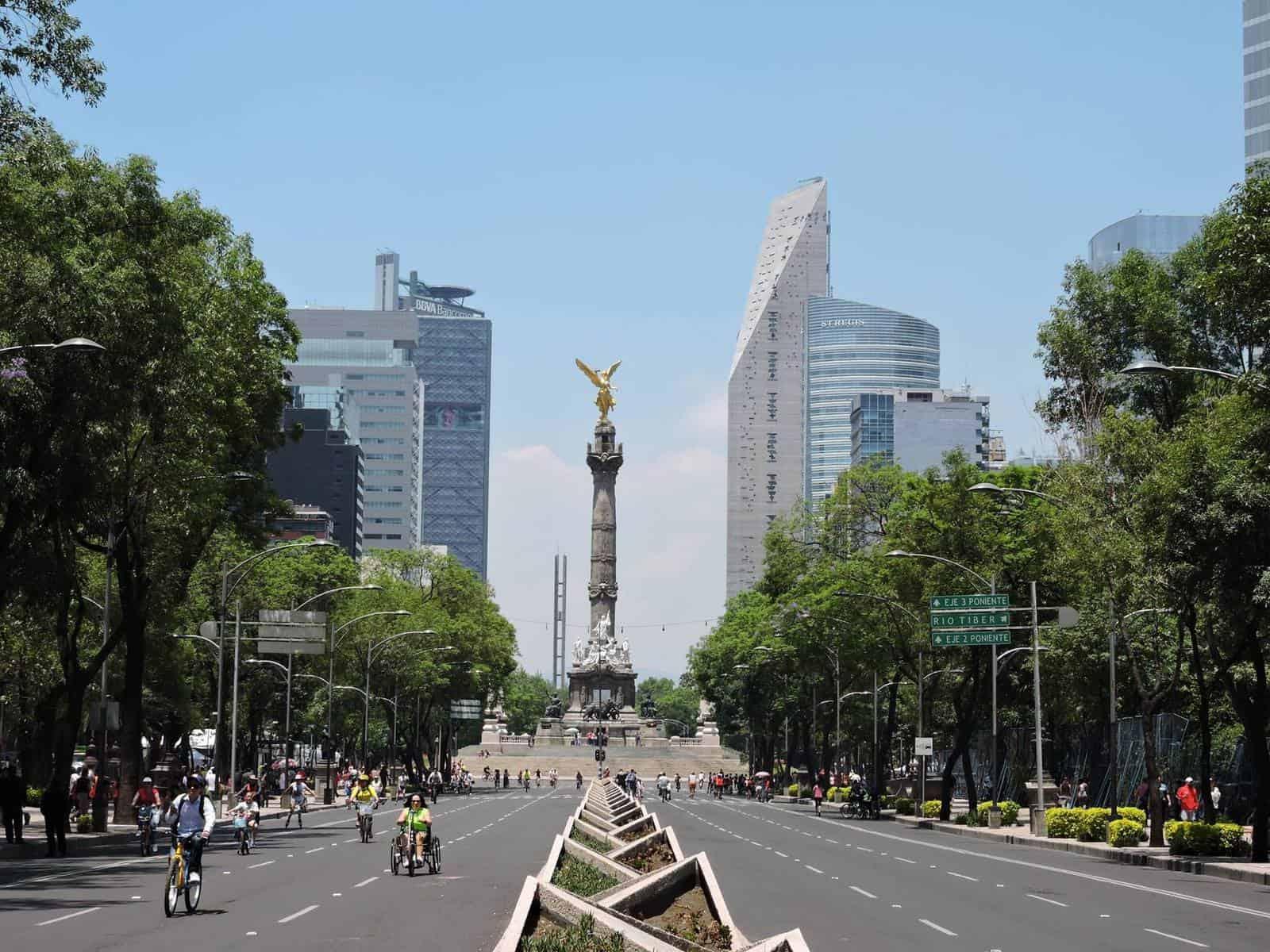 Mexico city arc capital